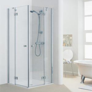 מקלחון פינתי ללא פרופילים Elegant WH4001