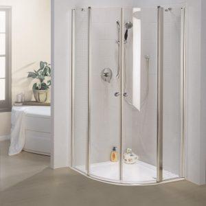 מקלחון פינתי עגול Mitrani 7003