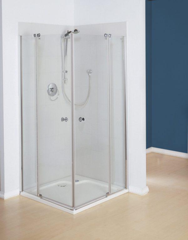 מקלחון פינתי עם פרופילים Style 9001