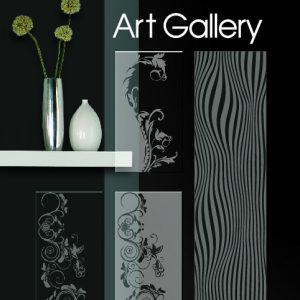Art Gallery זכוכית מעוצבת