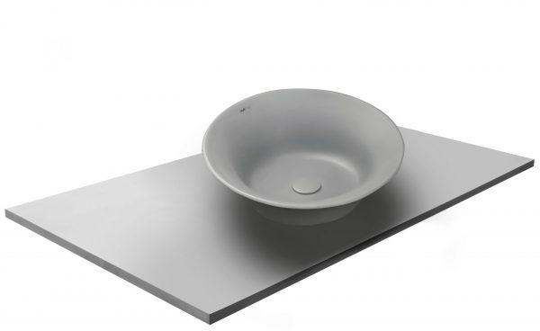 משטח עם כיור ENT-Opal אפור