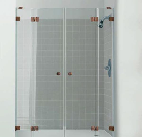 מקלחון חזיתי Elegant WH4027 אנטיק קופר