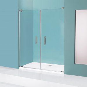 מקלחון חזיתי ללא פרופילים Meital ME27