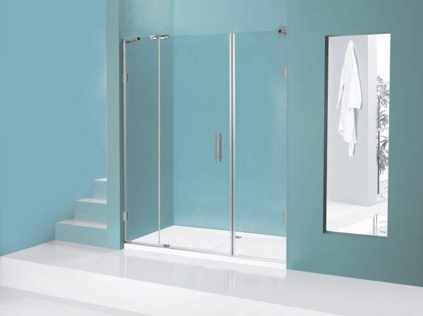 מקלחון חזיתי ללא פרופילים Meital ME907F