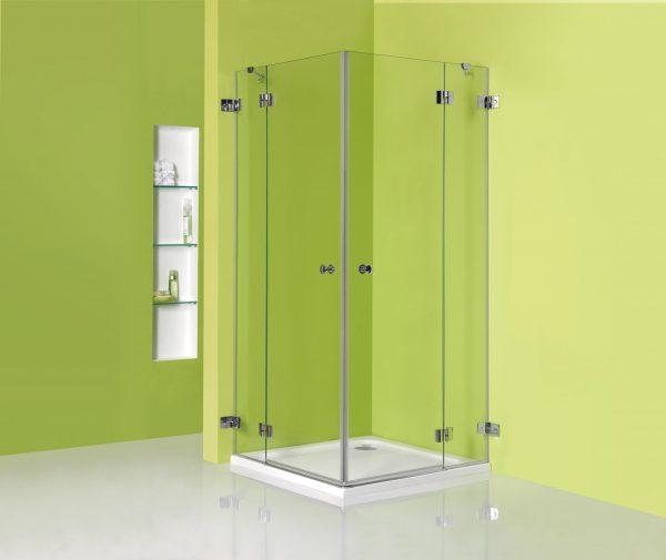 מקלחון פינתי ללא פרופילים Pro 401