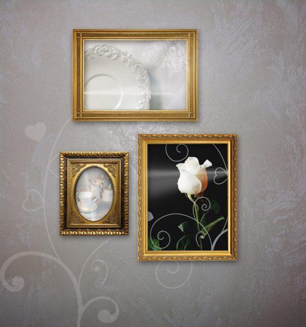 חיפוי זכוכית Frames