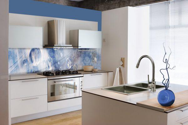 חיפוי זכוכית kitchen-blue-PB-MD515
