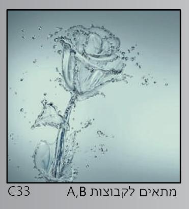 אריחי זכוכית C33