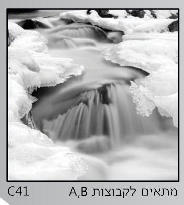 אריחי זכוכית C41