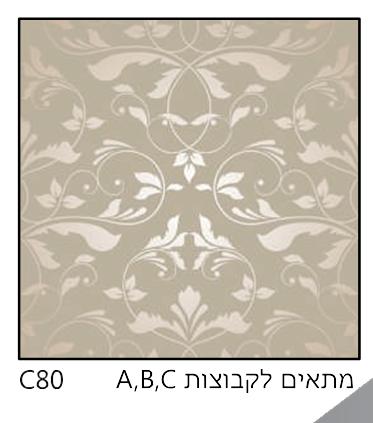 אריחי זכוכית C80