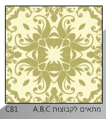 אריחי זכוכית C81