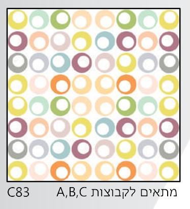 אריחי זכוכית C83