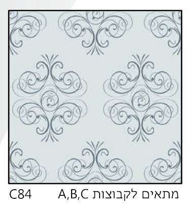 אריחי זכוכית C84