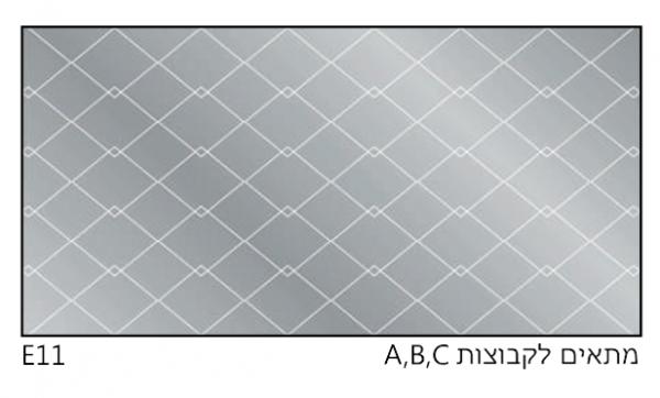 אריחי זכוכית E11