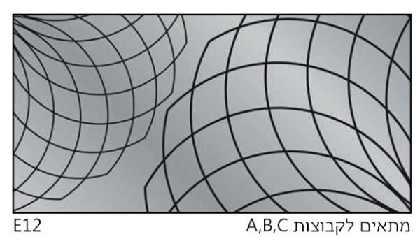 אריחי זכוכית E12