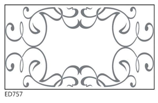 דוגמה למראה ED757