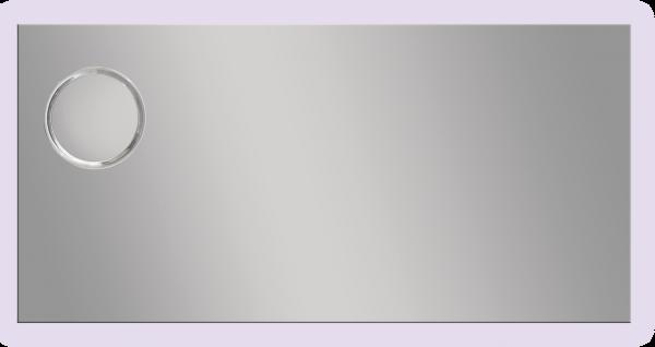 מראה מלבנית עם תאורה MQS909