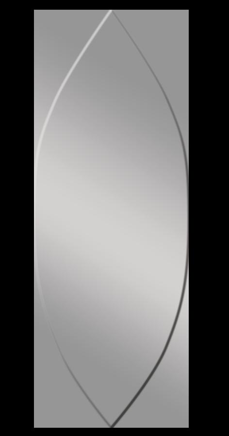 מראה בצורת טיפה